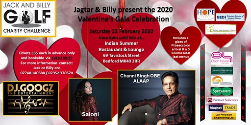 The Jagtar & Billy 2020  Valentine's Gala Celebration