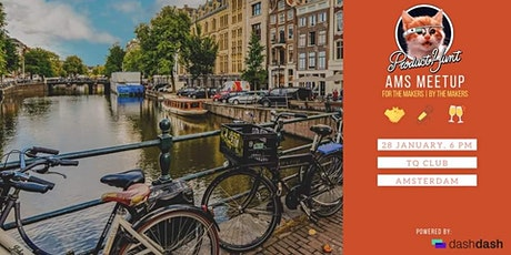 Product Hunt Amsterdam - 1st Worldwide Meetup! tickets