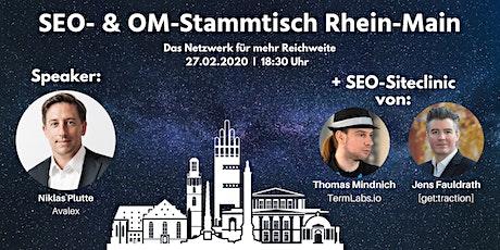 SEO- & OM-Stammtisch Rhein-Main in Darmstadt Tickets