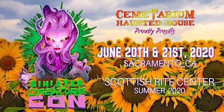Sinister Creature Con 2020 tickets