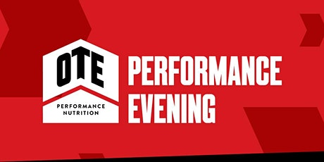 OTE Performance Evening tickets