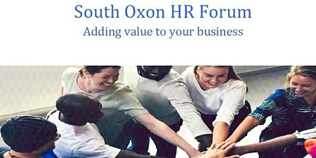 South Oxon HR Forum tickets