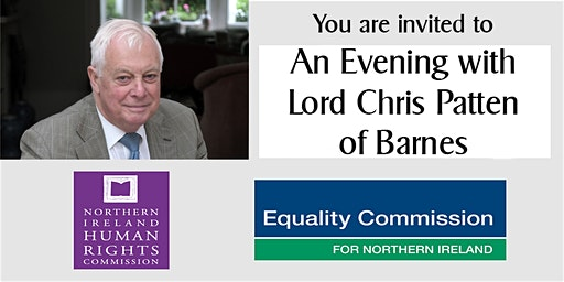 An Evening with Lord Chris Patten of Barnes