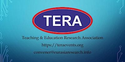 21st ICTEL 2020– International Conference on Tea