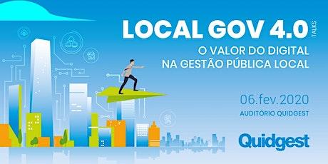 Local Gov 4.0 bilhetes
