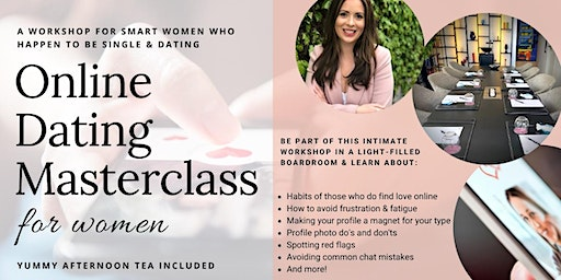 Online Dating Masterclass for Women: Finding love online in 2020