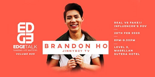 EDGETalk #5 by Brandon Ho