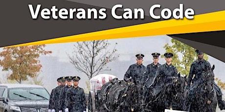 Veterans Can Code tickets