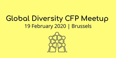Global Diversity CFP | Meetup tickets
