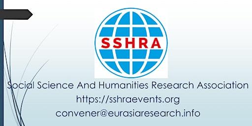 Osaka – International Conference on Social Science & Humanities(ICSSH)