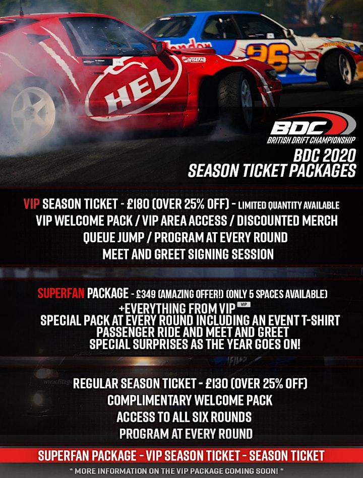BDC Season Tickets image