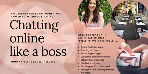 Chatting online like a boss. A workshop for women.