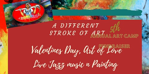 5th Annual Valentines Day  Art Of Love Live Jazz Painting Fundraiser