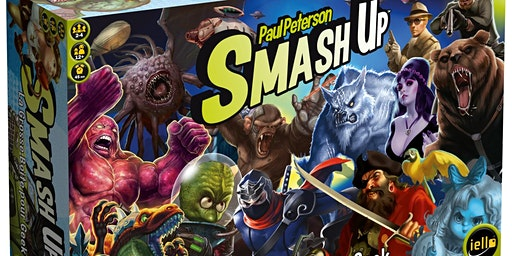 Tournoi amical Smash Up