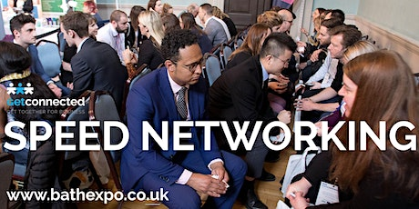 Speed networking at Bath Business Expo tickets