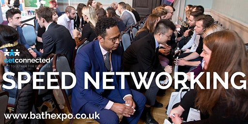 Speed networking at Bath Business Expo