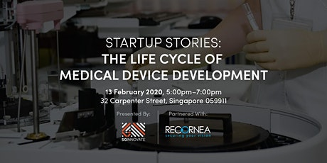 Startup Stories: The Life Cycle of Medical Device Development tickets