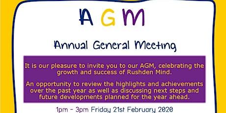Rushden Mind AGM tickets