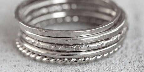 Silver Stacking Rings Workshop tickets