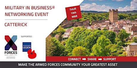Military in Business Networking Event- Catterick tickets
