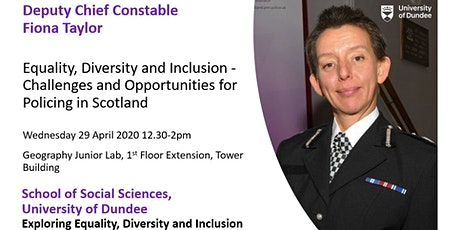 Equality, Diversity and Inclusion - Challenges and Opportunities for Policing in Scotland tickets