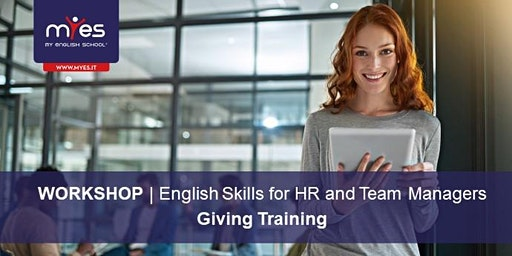 English Skills for HR and Team Managers - GIVING TRAINING