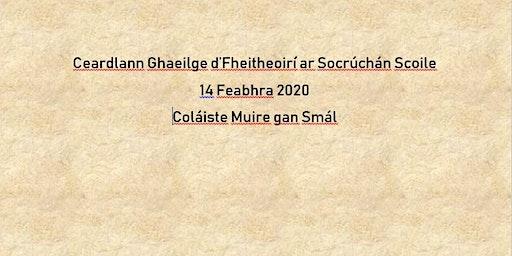Ceardlann Ghaeilge d'Fheitheoirí ar Socrúchán Scoile