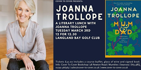 Joanna Trollope: A Literary Lunch tickets