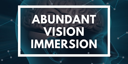 Abundant Vision Immersion V3 - Developing Clarity in 2020