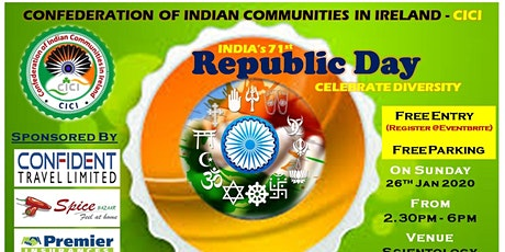 Indian Republic Day 2020 tickets
