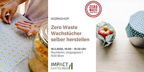 Zero Waste Wachstücher selber herstellen - Workshop Tickets