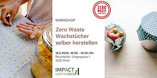 Zero Waste Wachstücher selber herstellen - Workshop