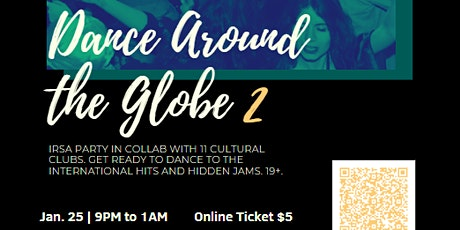 2nd Annual Dance Around the Globe at Koerner's tickets