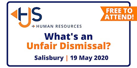 "FREE HR Seminar ""What's an Unfair Dismissal?"" from HJS Human Resources in Salisbury tickets"