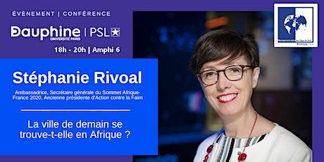 Conférence   Stéphanie Rivoal billets