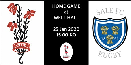 Blackheath v Sale FC 25th January 2020 tickets