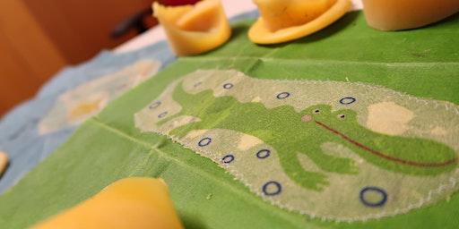 Selbermachen - Wachstücher Bügeln!