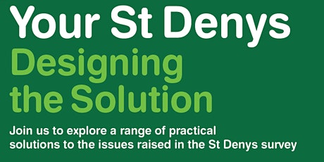 Designing the Solution with the St Denys Community tickets