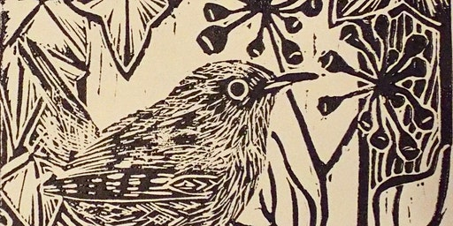 Lino Cutting and Printing workshop with Andrew Eddleston