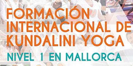 Formación de Profesores de N1 Kundalini Yoga en Mallorca - Inicio en Marzo entradas