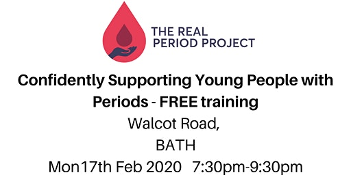 Confidently supporting young people with Periods - FREE training BATH