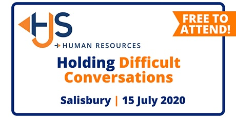 "FREE HR Seminar ""Holding Difficult Conversations"" from HJS Human Resources in Salisbury tickets"