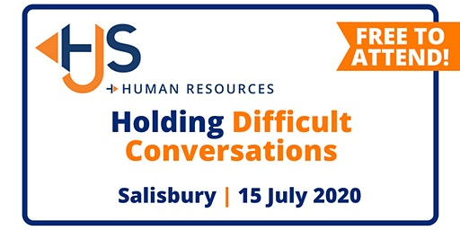 "FREE HR Seminar ""Holding Difficult Conversations"" from HJS Human Resources in Salisbury"
