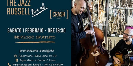 Jazz Do It // The Jazz Russell live al Crash Roma biglietti