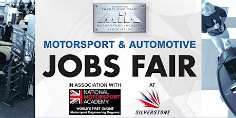 MIA Motorsport & Automotive Jobs Fair tickets