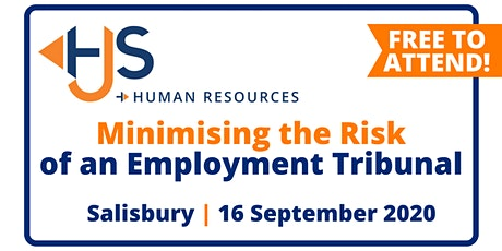 "FREE HR Seminar ""Minimising the Risk of an Employment Tribunal"" from HJS Human Resources in Salisbury tickets"