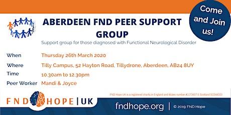 Aberdeen FND Peer Support Group tickets