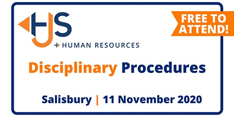 "FREE HR Seminar ""Disciplinary Procedures"" from HJS Human Resources in Salisbury tickets"