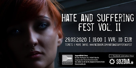 Hate And Suffering Fest Vol. II Tickets