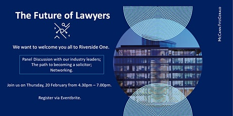 The Future of Lawyers tickets